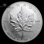 2004 Kanada 1 oz Sølv Maple Leaf Lunar Monkey Privy