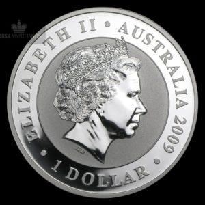 2009 Australia 1 oz Sølv Koala BU