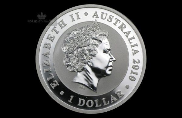 2010 Australia 1 oz Sølv Koala BU