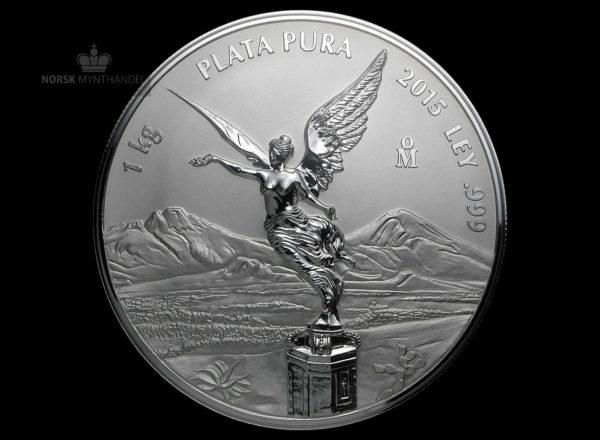 2015 Mexico 1 Kilo Silver Libertad Proof-Like