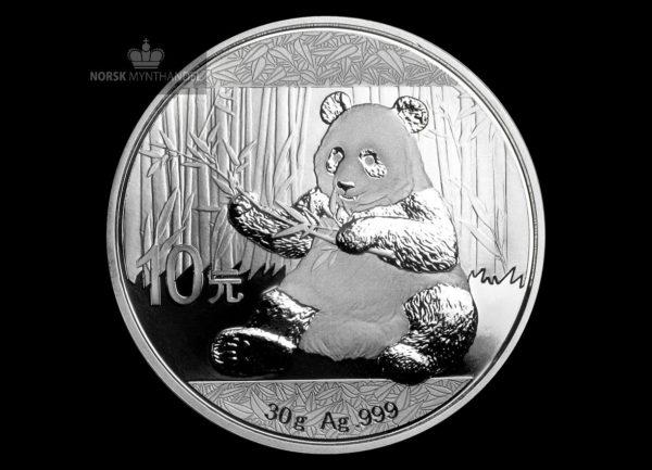 2017 Kina 30 Gram Sølv Panda