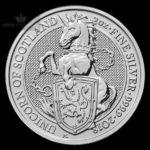 2018 Storbritannia 2 oz Sølv