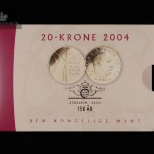 20 Kroner BU Spesial 2004 Jernbanen