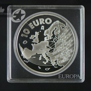 2004 Spania 10 Euro Enlargement of the European Union