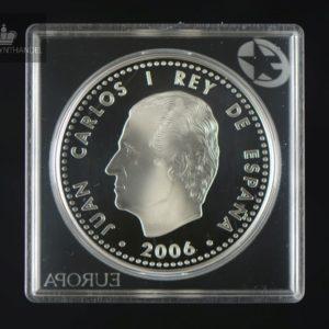 2006 Spania 10 Euro Emperor Charles V