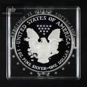 "2006 American Silver Eagle 1 oz Proof ""Fabulous 12"""