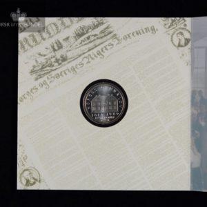 1989 175 kroner Grunnloven 175 år i Pappetui