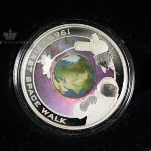 "2009 1 oz Sølvmynt Orbit & Beyond ""First Space Walk"""