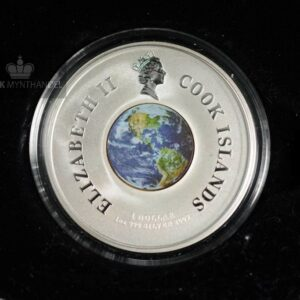 "2009 1 oz Sølvmynt Orbit & Beyond ""First Space Walk"""