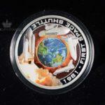 2010 1 oz Sølvmynt Orbit & Beyond