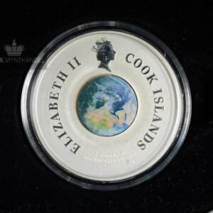 "2009 1 oz Sølvmynt Orbit & Beyond ""First Man On The Moon"""