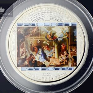 "2011 Masterpieces of Art 3 oz Sølv ""Adoration of the Sheperds"""