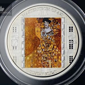 "2012 Masterpieces of Art 3 oz Sølv ""Adele Bloch-Bauer I."""