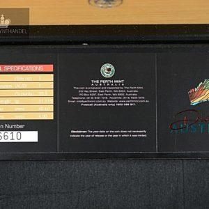 """2007 Australia 1$ Sølvmyntsett """"Discover Australia"""""""