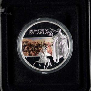 "2009 Tuvalu 1 oz Sølv ""Famous Battles in History - Balaklava"""