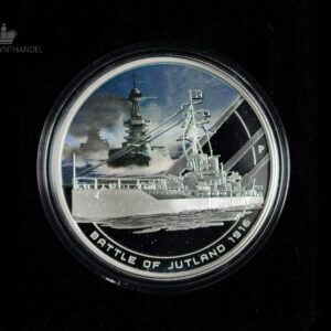 "2011 Cook Islands 1 oz Sølv ""Famous Naval Battles - Jutland"""