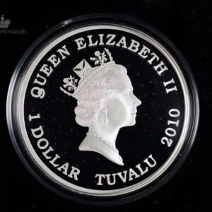 "2010 Tuvalu 1 oz Sølv ""Great Composers - Mahler"""