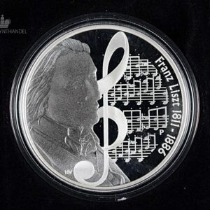 "2011 Tuvalu 1 oz Sølv ""Great Composers - Liszt"""