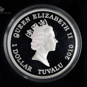 "2010 Tuvalu 1 oz Sølv ""Great Composers - Schumann"""