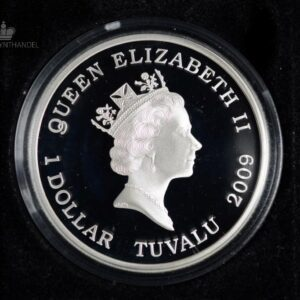 "2009 Tuvalu 1 oz Sølv ""Great Composers - Mendelssohn"""