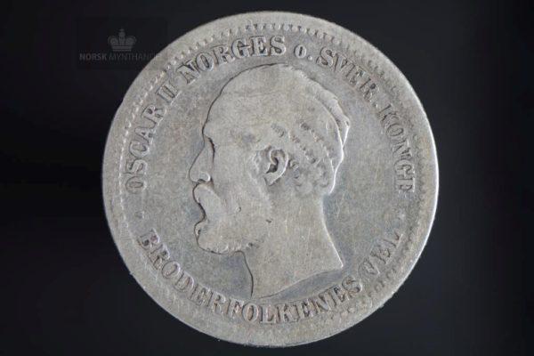1878 1 Krone Kv 1-