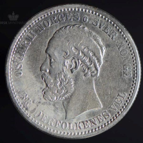 1900 1 Krone Kv 1/1+
