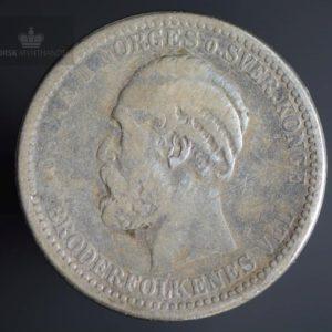 1897 50 Øre Kv 1-