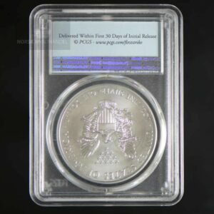 "2017 Silver American Eagle 1 oz Sølv PCGS MS70 ""First Strike"""