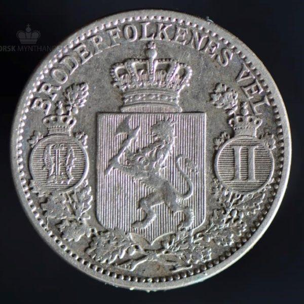 1902 25 Øre Kv 1/1+