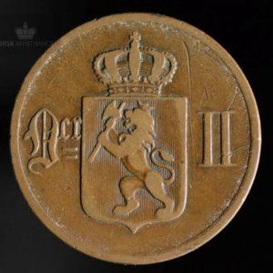 1878 5 Øre Kv 1-