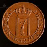 1914 5 Øre Kv 1