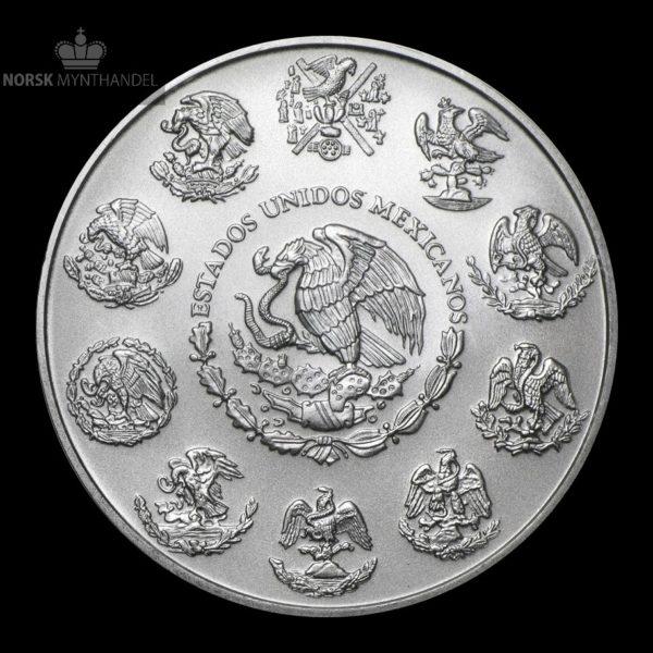 2016 Mexico 1 oz Silver Libertad BU