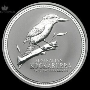 2003 Australia 1 oz Sølv Kookaburra BU