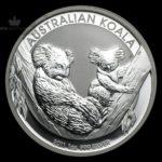 2011 Australia 1 oz Sølv Koala BU