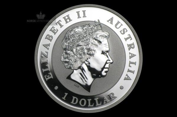 2012 Australia 1 oz Sølv Koala BU