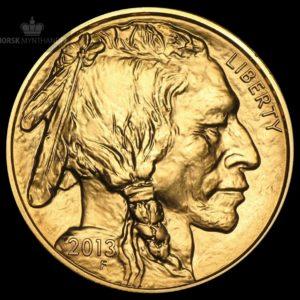 2013 USA 1 oz Gold Buffalo BU