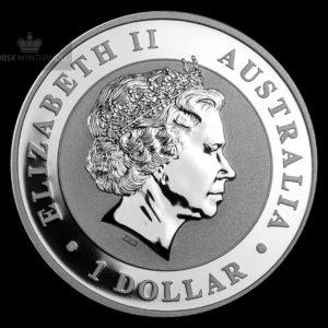 2013 Australia 1 oz Sølv Koala BU
