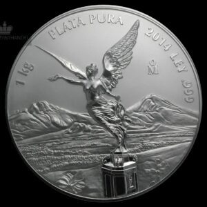 2014 Mexico 1 Kilo Silver Libertad Proof-Like