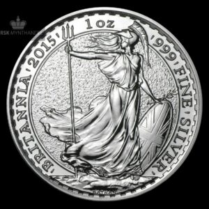 2015 Storbritannia 1 oz Sølv Britannia