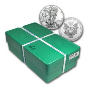 2018 Silver American Eagle 500 x 1 oz Monster Box