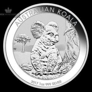 2017 Australia 1 oz Sølv Koala