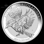 2018 Australia 1 oz Sølv Kookaburra BU
