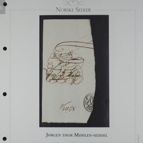 25 Riksdaler 1695 Jørgen Thor Møhlen, Talong Nr 104 b