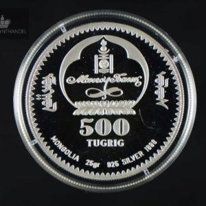 1996 Mongolia 500 Tugrig Cameleus Ferus