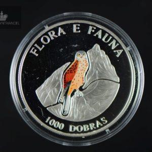 1995 São Tomé og Príncipe 1000 Dobras Falcon