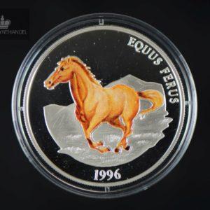 1996 Mongolia 500 Tugrig Equus Ferus