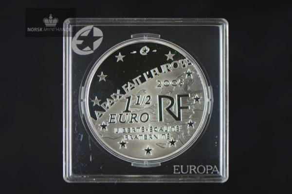 2005 Frankrike 1,50 Euro 60 years Peace and Freedom in Europe