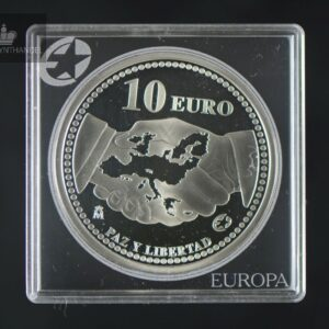 2005 Spania 10 Euro 60 years Peace and Freedom in Europe