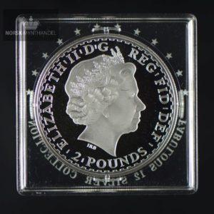 """2006 Storbritannia 1 oz Sølv Britannia Proof """"Fabulous 12"""""""