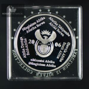"2006 Sør Afrika 1 oz Sølv R2 ""Birds of Prey Series"" Proof"